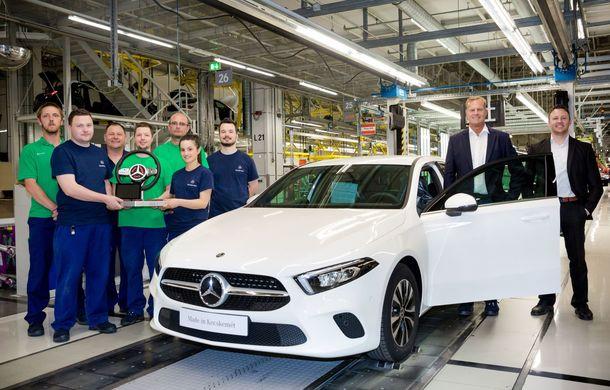 Mercedes extinde producția noii generații Clasa A: noul model va fi construit și în Ungaria, la 140 de kilometri de granița cu România - Poza 1
