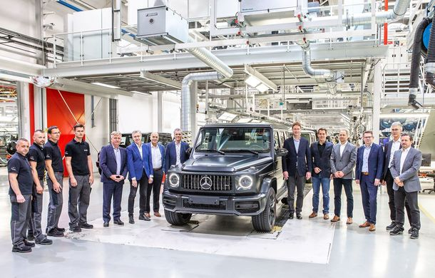Mercedes a dat startul producției pentru noua generație Clasa G: uzina austriacă din Graz se ocupă de acest model încă din 1979 - Poza 1