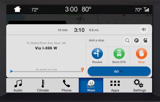 Ford proiectează Waze pe sistemul de infotainment al mașinii pentru utilizatorii iPhone - Poza 5