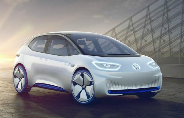 """Noul Volkswagen ID, prima electrică din gama modernă VW, va avea un design apropiat de conceptul inițial: """"Este cam aceeași mașină prezentată în 2016"""" - Poza 1"""