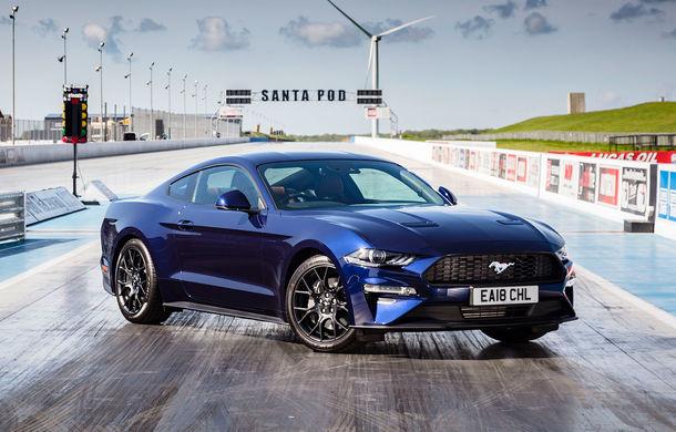 Accesorii noi pentru Ford Mustang facelift: evacuare specială pentru versiunea de 2.3 litri, sistem audio de 1000 de wați și nuanțe noi de caroserie - Poza 2