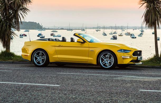 Accesorii noi pentru Ford Mustang facelift: evacuare specială pentru versiunea de 2.3 litri, sistem audio de 1000 de wați și nuanțe noi de caroserie - Poza 8