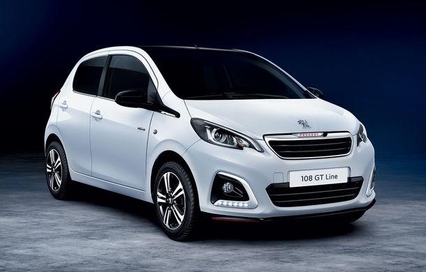 Îmbunătățiri tehnologice pentru Peugeot 108: motor de 1.0 litri și 72 CP și sistem pentru recunoașterea semnelor de circulație - Poza 2