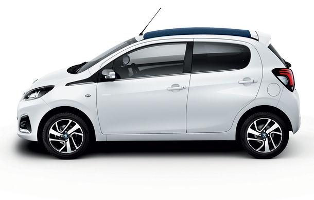 Îmbunătățiri tehnologice pentru Peugeot 108: motor de 1.0 litri și 72 CP și sistem pentru recunoașterea semnelor de circulație - Poza 5