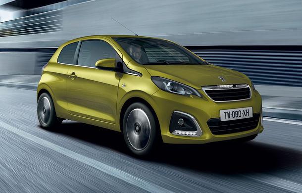 Îmbunătățiri tehnologice pentru Peugeot 108: motor de 1.0 litri și 72 CP și sistem pentru recunoașterea semnelor de circulație - Poza 1