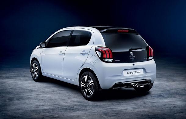 Îmbunătățiri tehnologice pentru Peugeot 108: motor de 1.0 litri și 72 CP și sistem pentru recunoașterea semnelor de circulație - Poza 3
