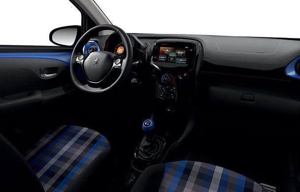 Îmbunătățiri tehnologice pentru Peugeot 108: motor de 1.0 litri și 72 CP și sistem pentru recunoașterea semnelor de circulație - Poza 10