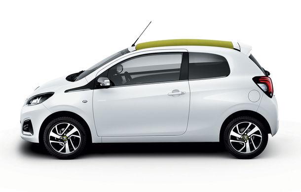 Îmbunătățiri tehnologice pentru Peugeot 108: motor de 1.0 litri și 72 CP și sistem pentru recunoașterea semnelor de circulație - Poza 4