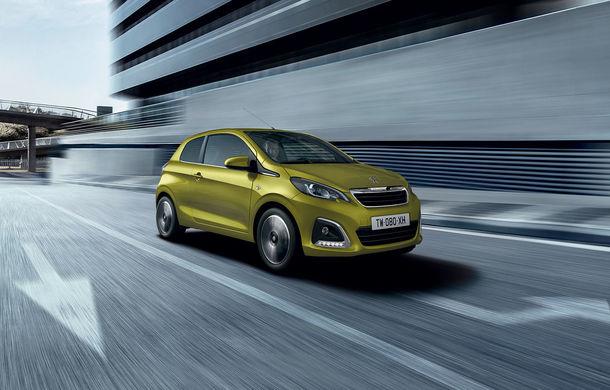 Îmbunătățiri tehnologice pentru Peugeot 108: motor de 1.0 litri și 72 CP și sistem pentru recunoașterea semnelor de circulație - Poza 6