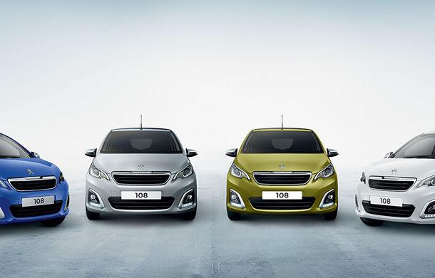 Îmbunătățiri tehnologice pentru Peugeot 108: motor de 1.0 litri și 72 CP și sistem pentru recunoașterea semnelor de circulație - Poza 9