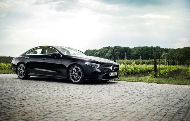 Test drive Mercedes-Benz CLS