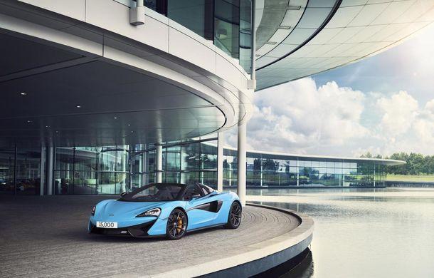 Sărbătoare la McLaren: britanicii au livrat exemplarul cu numărul 15.000, la 7 ani de la începerea producției - Poza 1