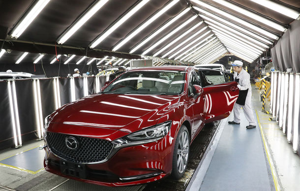 Sărbătoare la Mazda: 50 de milioane de mașini construite de japonezi în 86 de ani de la începerea producției - Poza 1