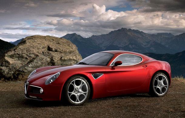 Renașterea unor legende: Alfa Romeo va relansa modelele 8C și GTV în cel mult 4 ani - Poza 1