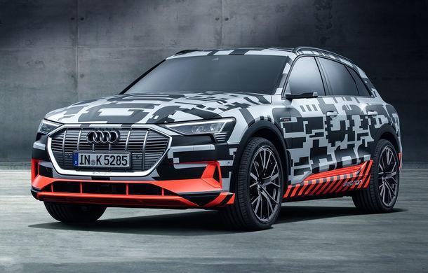 Audi România primește comenzi pentru noul SUV electric e-tron: rezervare pentru 1.000 de euro plus TVA, lansare în 2019 - Poza 1