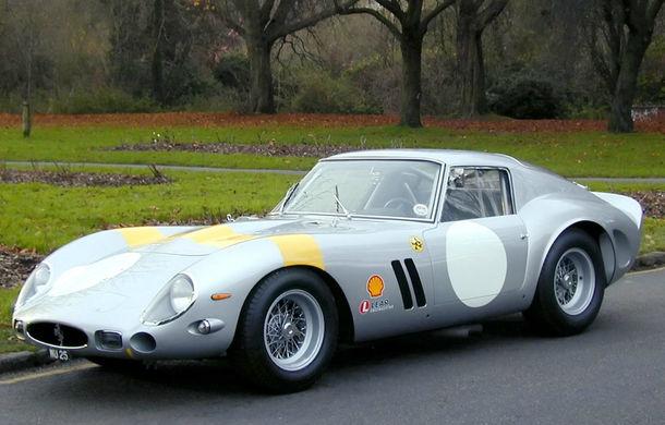 Ferrari 250 GTO, un nou record pentru cea mai scumpă mașină din lume: 70 de milioane de dolari - Poza 1