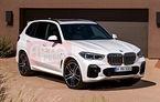 """Noul BMW X5: două fotografii """"scăpate"""" pe internet ne dezvăluie designul exterior al noului model"""