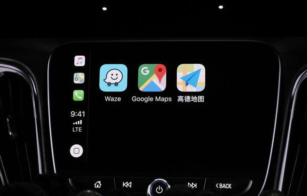 Vești bune pentru șoferii cu iPhone: Apple CarPlay va oferi suport pentru Waze și Google Maps - Poza 2