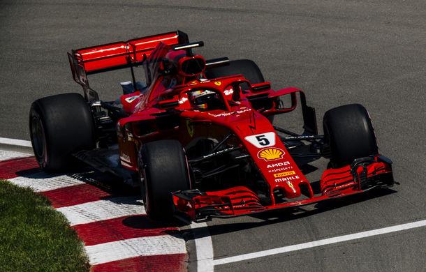 Vettel, pole position în Canada în fața lui Bottas. Verstappen și Hamilton, în a doua linie a grilei - Poza 1
