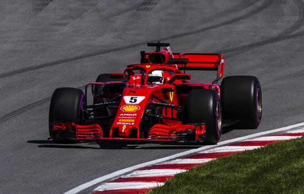 Vettel a câștigat cursa de la Montreal și a devenit liderul clasamentului! Bottas și Verstappen au urcat pe podium - Poza 1