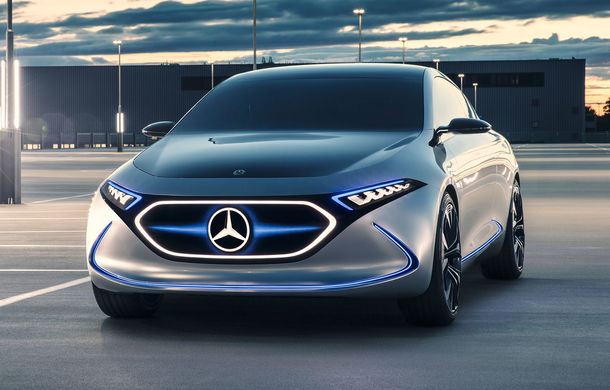 Mercedes promovează conceptul electric EQA înainte de lansarea versiunii de serie în 2019 - Poza 1