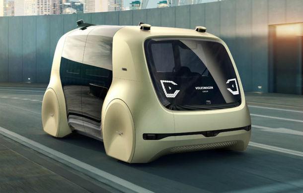 Volkswagen Sedric Active: versiunea pentru sportivi a conceptului de shuttle electric și autonom va fi prezentată în iunie - Poza 1