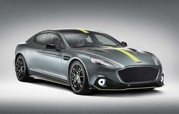 Noul Aston Martin Rapide AMR: V12 de 6.0 litri și 603 cai putere, 0-100 km/h în 4.4 secunde și ediție limitată la 210 unități - Poza 1