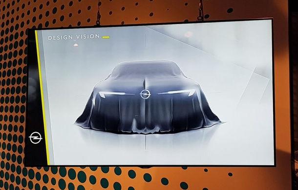 Opel pregătește un concept care va arăta elemente de design ale viitoarelor modele: prima imagine a apărut pe internet - Poza 1