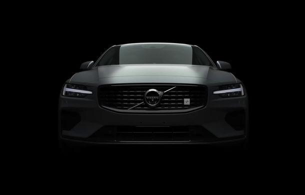 Primul teaser cu Volvo S60 Polestar Engineered: suedezii au dezvăluit partea frontală - Poza 1