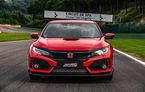 Honda Civic Type R a cucerit circuitul Spa-Francorchamps: Hot Hatch-ul nipon este cel mai rapid model de serie cu roți motrice față de pe circuitul belgian