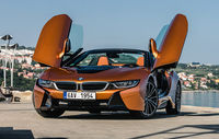 Test drive BMW i8 Roadster