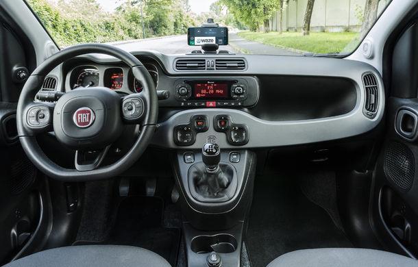 Fiat Panda Waze: modelul de oraș integrează aplicația de navigație în sistemul de infotainment - Poza 13