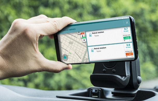 Fiat Panda Waze: modelul de oraș integrează aplicația de navigație în sistemul de infotainment - Poza 9