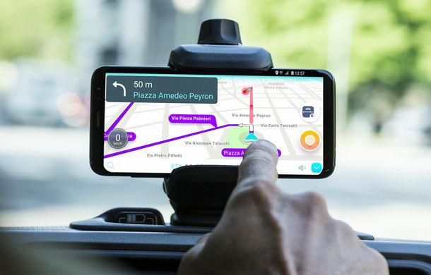 Fiat Panda Waze: modelul de oraș integrează aplicația de navigație în sistemul de infotainment - Poza 8