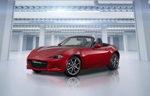 Mazda confirmă îmbunatățirile pentru MX-5: 184 CP pentru motorul pe benzină de 2.0 litri și 5 noi sisteme de siguranță - Poza 1