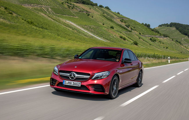 Test drive Mercedes-Benz Clasa C facelift