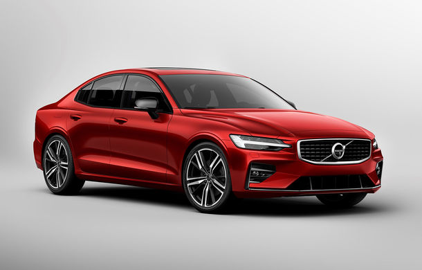 Noua generație Volvo S60: rivalul lui BMW Seria 3 și Audi A4 renunță la diesel, dar vine cu două versiuni plug-in hybrid de până la 415 CP - Poza 1
