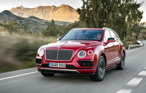 Bentley Bentayga Sport: SUV-ul coupe ar putea debuta în 2019 cu o motorizare de peste 600 CP - Poza 1