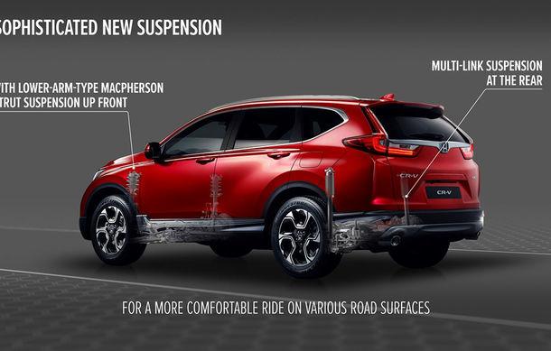 Honda dezvăluie din secretele noii generații CR-V: suspensie Multilink spate și tracțiune integrală inteligentă disponibilă opțional - Poza 5