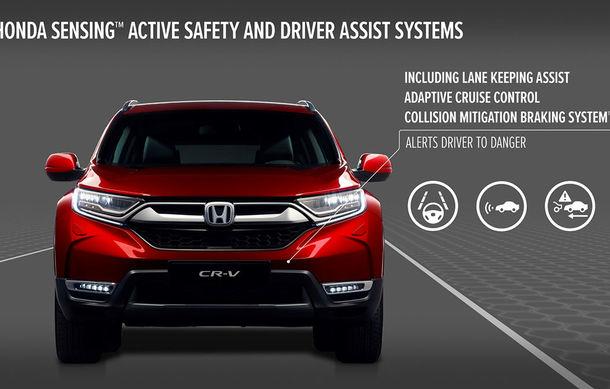 Honda dezvăluie din secretele noii generații CR-V: suspensie Multilink spate și tracțiune integrală inteligentă disponibilă opțional - Poza 4