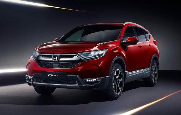 Honda dezvăluie din secretele noii generații CR-V: suspensie Multilink spate și tracțiune integrală inteligentă disponibilă opțional - Poza 1