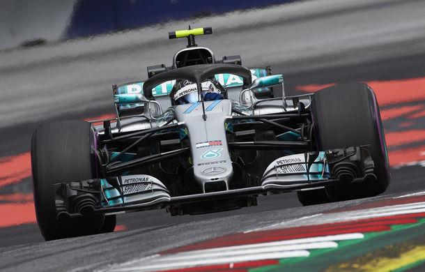 Bottas va pleca din pole position în Austria și va fi urmat pe grila de start de Hamilton. Vettel, locul 6 după o penalizare cu 3 poziții - Poza 1