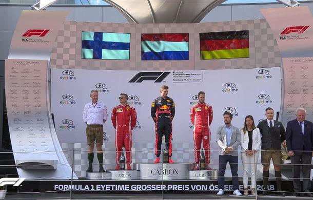 Verstappen a câștigat cursa din Austria! Raikkonen și Vettel pe podium, Hamilton, Bottas și Ricciardo au abandonat - Poza 7