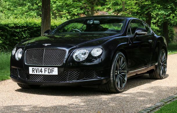 Un exemplar Bentley Continental GT Speed deținut de Sir Elton John va fi scos la licitație: specialiștii spun că modelul va fi vândut pentru cel puțin 79.000 de euro - Poza 1