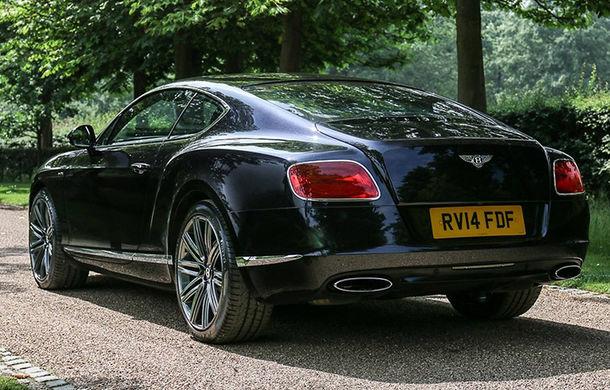 Un exemplar Bentley Continental GT Speed deținut de Sir Elton John va fi scos la licitație: specialiștii spun că modelul va fi vândut pentru cel puțin 79.000 de euro - Poza 2