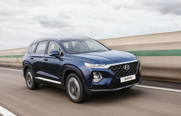 Hyundai Santa Fe va primi versiune micro-hibridă și una cu încărcare la priză: un an și jumătate până la introducerea celor două variante - Poza 1