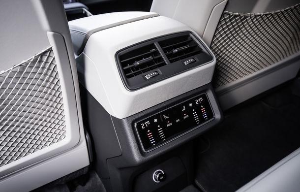 Primele imagini cu interiorul lui Audi e-tron: SUV-ul electric are 5 ecrane, dintre care două pentru camerele care înlocuiesc oglinzile - Poza 16