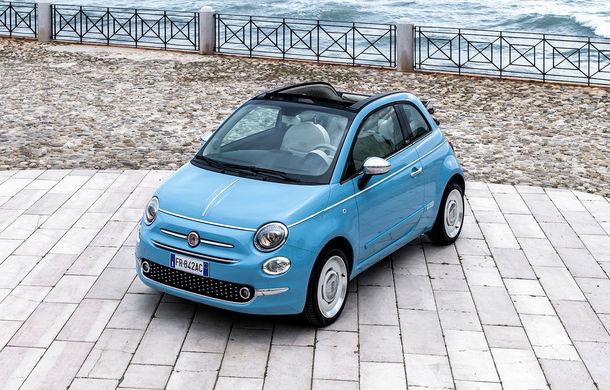 La dolce vita: Fiat celebrează 60 de ani de la apariția lui 500 Jolly cu ediția specială Spiaggina 58 - Poza 1