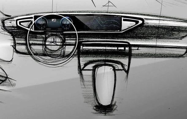 Primele schițe cu interiorul noii generații Mercedes GLE: SUV-ul va avea două ecrane de 12.3 inch - Poza 2