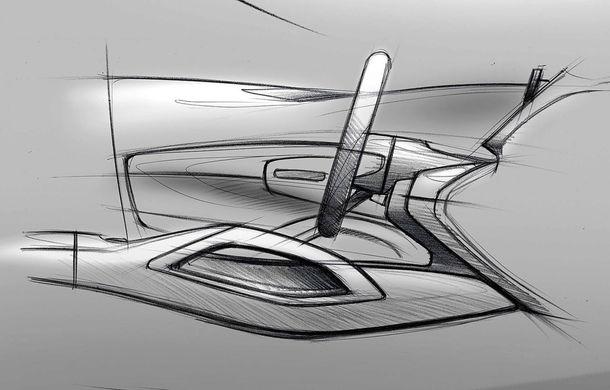 Primele schițe cu interiorul noii generații Mercedes GLE: SUV-ul va avea două ecrane de 12.3 inch - Poza 5